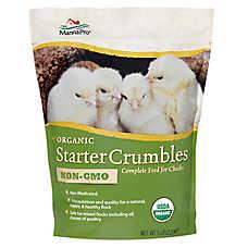 Manna Pro Chicken Organic Starter Crumbles