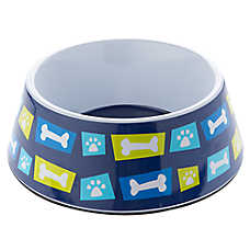 Top Paw® Geo Bones Dog Bowl