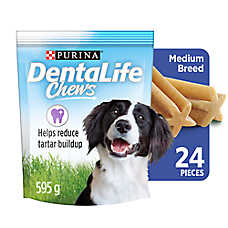 Purina® DentaLife Chews Medium Dog Dental Treat