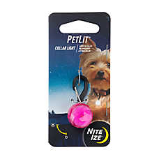 Nite Ize® PetLit™ LED Jewel Collar Light