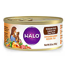HALO® Spot's Pate Cat Food - Grain Free, Chicken & Beef