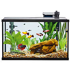top fin led aquarium starter kit fish starter kits petsmart. Black Bedroom Furniture Sets. Home Design Ideas