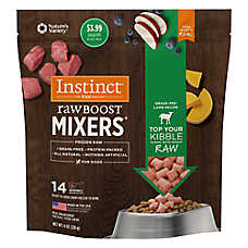 Nature's Variety® Instinct® Raw Boost Mixers Dog Food Topper - Grain Free, Frozen Raw, Lamb