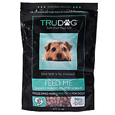 TruDog Feed Me Superfood Dog Food - Freeze Dried, Raw, Natural, Crunchy Munchy Gobbler
