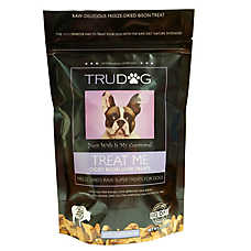 TruDog Treat Me Dog Treat - Freeze Dried, Raw, Natural, Bison Liver