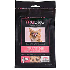 TruDog Treat Me Dog Treat - Freeze Dried, Raw, Natural, Salmon