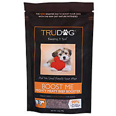 TruDog Boost Me Dog Food Enhancer - Freeze Dried, Raw, Grain Free, Natural, Beef