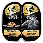 SHEBA® Perfect Portions Cat Food -  Salmon & Chicken Cuts
