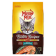 Meow Mix® Bistro Recipes Cat Food - Salmon