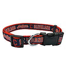 Cleveland Indians MLB Dog Collar