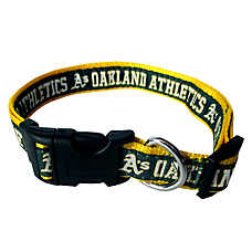 Oakland Athletics MLB Dog Collar