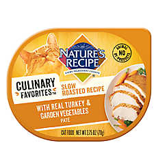 Nature's Recipe® Culinary Favorites Roasted Cat Food - Natural, Turkey & Vegetables