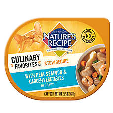 Nature's Recipe® Culinary Favorites Stew Cat Food - Seafood & Vegetables