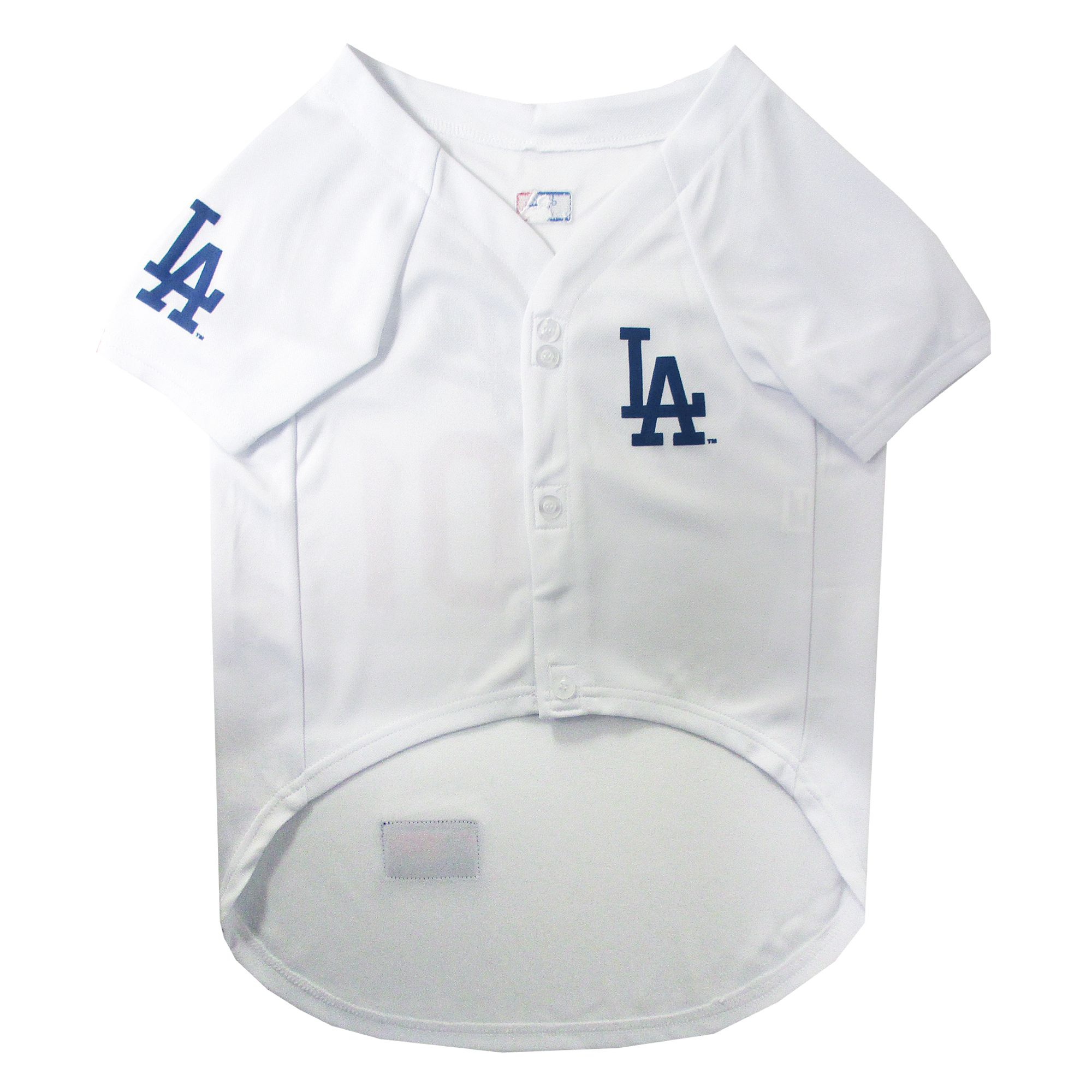 NEW MLB Dog Puppy Jersey Tshirt T Los Angeles Dodgers Small Pet Tee Shirt