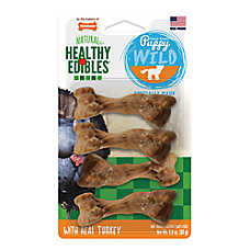 Nylabone® Healthy Edibles® Natural & Grain Free Puppy Dog Treats - 4 Pack