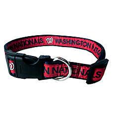 Washington Nationals MLB Dog Collar