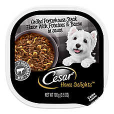 Cesar® Home Delights™ Dog Food - Grilled Porterhouse Steak, Potatoes, Bacon & Cheese