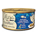 Muse® MasterPieces Adult Cat Food - Essential Nutrients, Natural Tuna, Carrots & Spinach