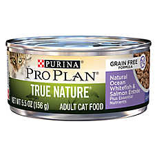 Purina® Pro Plan® True Nature Adult Cat Food - Grain Free, Natural, Ocean Whitefish & Salmon
