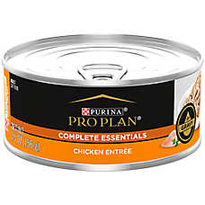 sale 12 / $17	when you buy 12 entire stock Purina® Pro Plan® cat food, 5.5 oz. cans