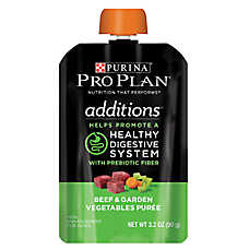 Purina® Pro Plan® Additions Meal Enhancement Dog Food Mixer - Beef & Vegetable, Healthy Digestion