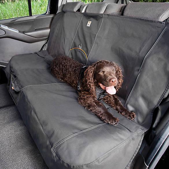 Kurgo Bench Car Seat Cover Black