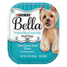 Purina® Bella Small Dog Food - Porterhouse Steak