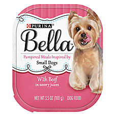 Purina® Bella Small Dog Food - Beef