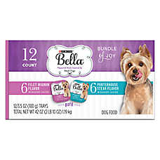 Purina® Bella Small Dog Variety Pack Wet Dog Food - Steak