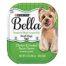 Purina® Bella Small Dog Food - Chicken & Smoked Bacon