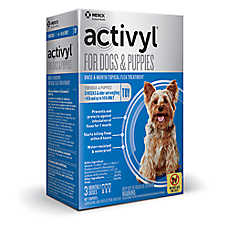 Activyl® Dog 4-14 Lb Flea Dog Treatment