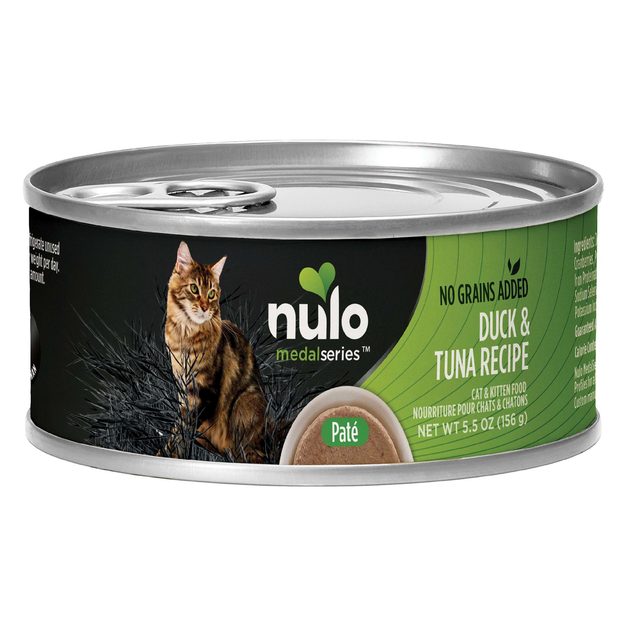 Nulo Medalseries Cat Kitten Food Grain Free Duck Tuna Cat