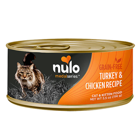 Nulo MedalSeries Cat & Kitten Food - Grain Free, Turkey ...