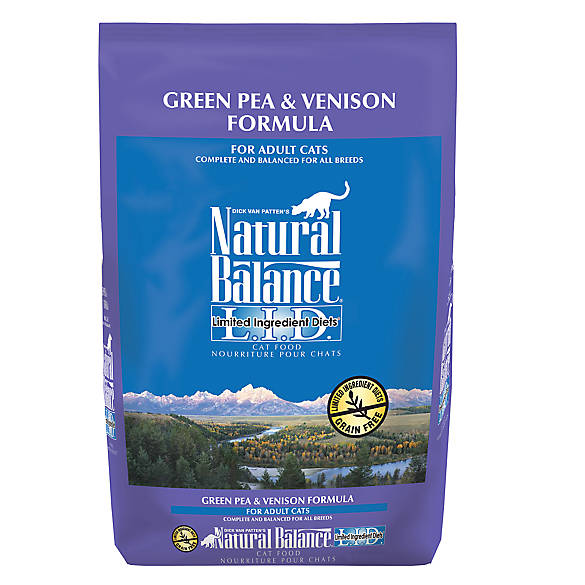 Natural Balance Green Pea And Venison Dry Cat Food
