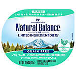 Natural Balance Limited Ingredient Diets Adult Cat Food - Grain Free, Chicken & Pumpkin