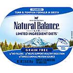 Natural Balance Limited Ingredients Diet Adult Cat Food - Grain Free, Tuna & Pumpkin