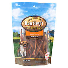 Dentley's® Nature's Chews Pork Fries Medium Dog Treat - Natural