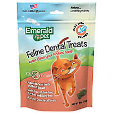 Smart n' Tasty Dental Cat Treat - Natural, Grain Free, Salmon