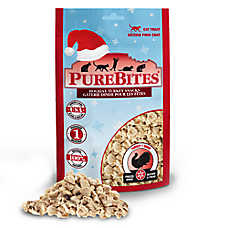 PureBites® Holiday Cat Treat - Natural, Freeze Dried, Turkey
