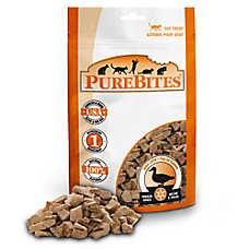 PureBites® Freeze Dried Cat Treat - Natural,  Duck