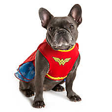 DC Comics™ Halloween Wonderwoman Dress Dog Costume