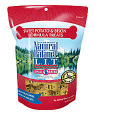 Natural Balance Limited Ingredient Treats Small Breed Dog Treat - Grain Free, Sweet Potato & Bison