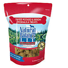 Natural Balance Limited Ingredient Treats Dog Treat - Grain Free, Sweet Potato & Bison
