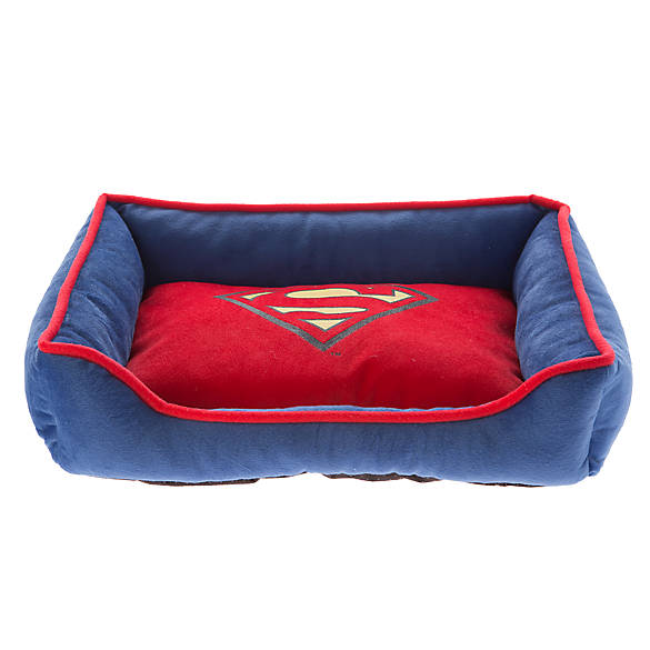 Dc Comics Trade Superman Cuddler Dog Bed Dog Cuddler Beds Petsmart