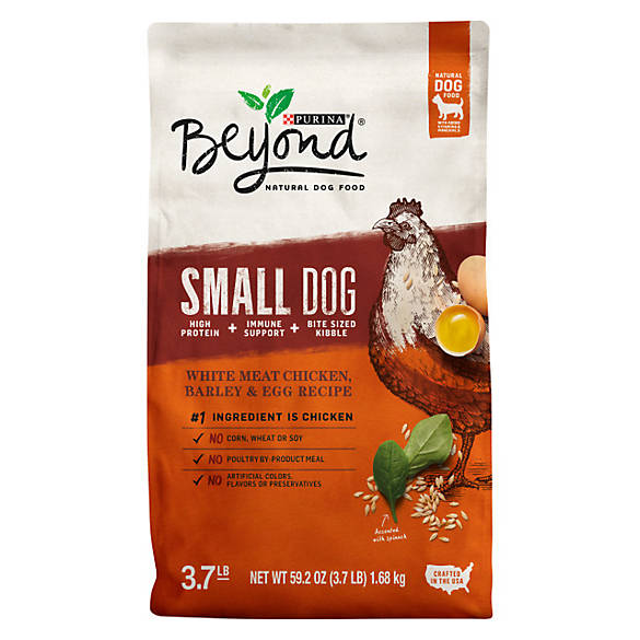 The Wellness philosophy is on natural holistic dog food recipes, free of artificial chemical preservatives, additives, or by-products. Their focus is on hypoallergenic dog food so they are free of wheat, corn, and soy and, in addition, they use vegetable fats only.