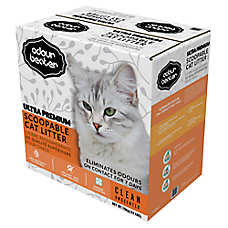 Odour Beater Ultra Premium Cat Litter - Scoopable, Unscented