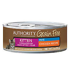 Authority® Grain Free Kitten Food - Chicken