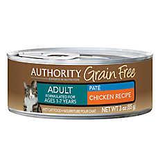 Authority® Grain Free Adult Cat Food - Chicken