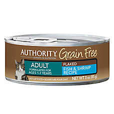 Authority® Grain Free Adult Cat Food - Fish & Shrimp