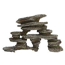 Top Fin® Gray Stacked Rock Aquarium Ornament